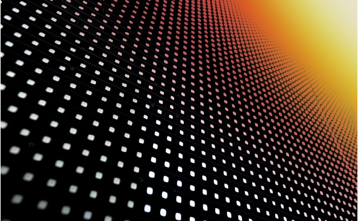 Closeup SMD LED