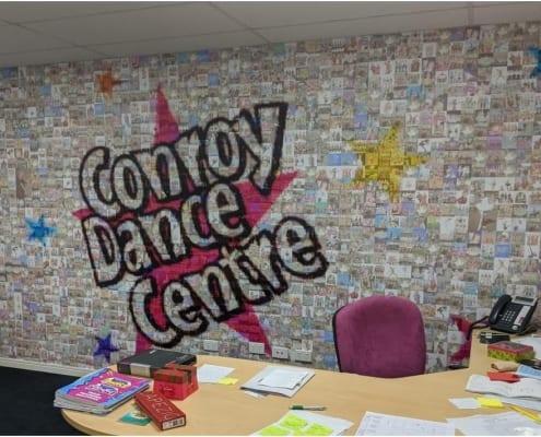 Dance Centre Wall Mural