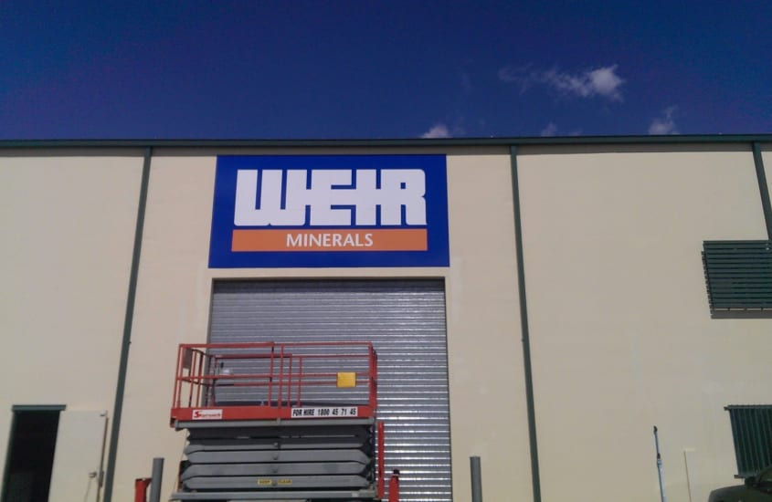 Warehouse Sign - Signage Cleaning Services