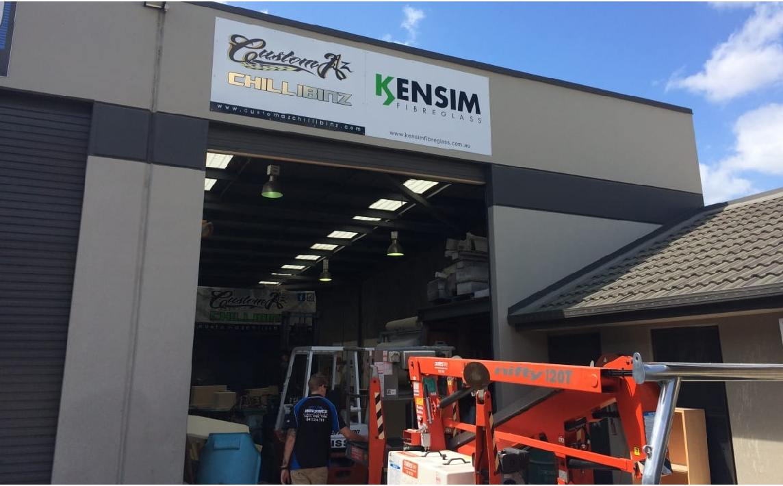 Industrial sign maintenance