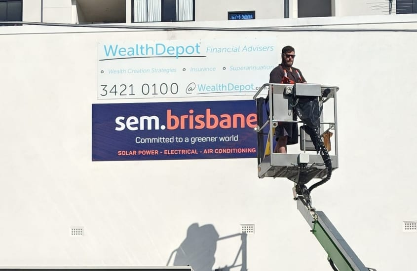 brisbane image group sign maintenance