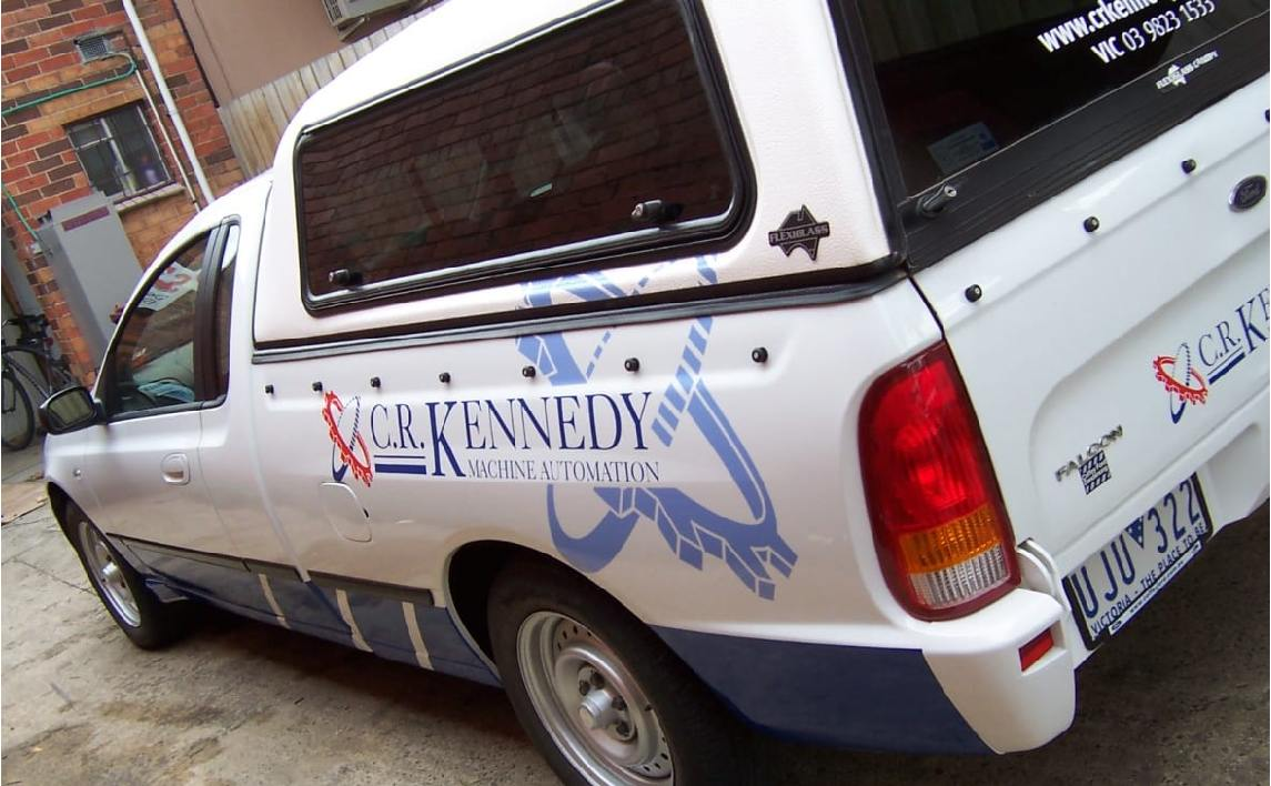 vehicle sign graphics wrap